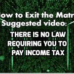 There Is No Law Requiring Americans To Pay Income Tax