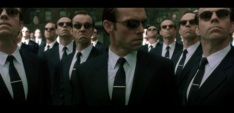 identify your agent smith in the matrix how to exit the