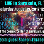 CAS LIVE Sarasota- Cosmic Wisdom From Sharon-Elizabeth James