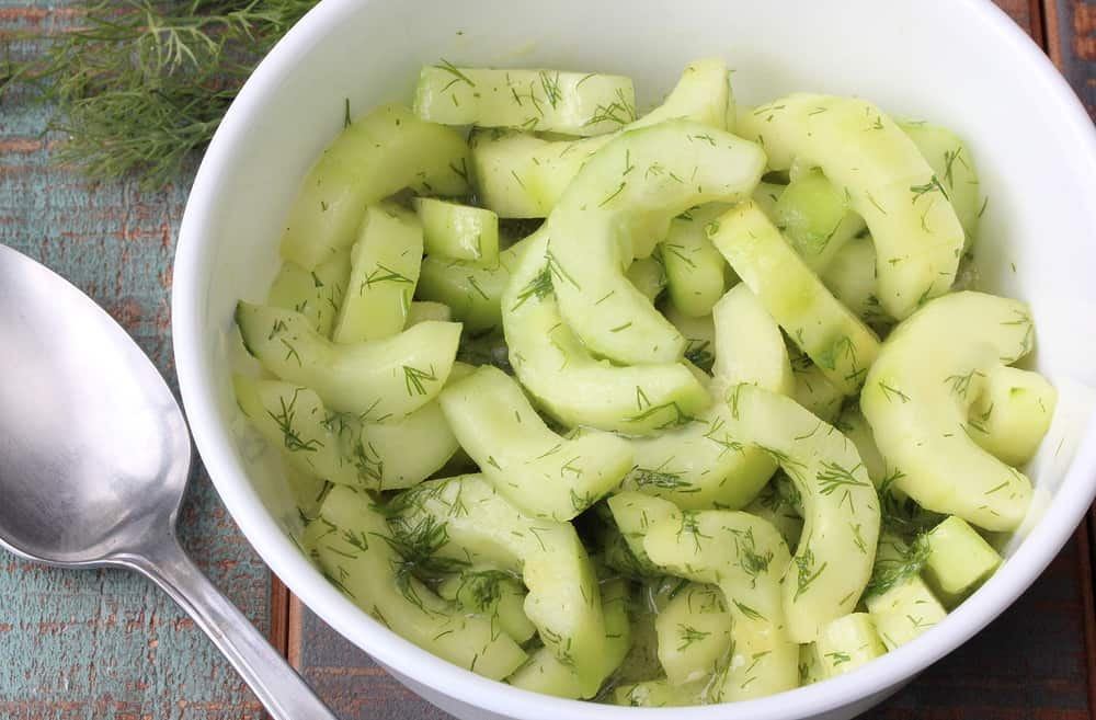 Cool Cucumber  Dill Salad  How To Feed A Loon