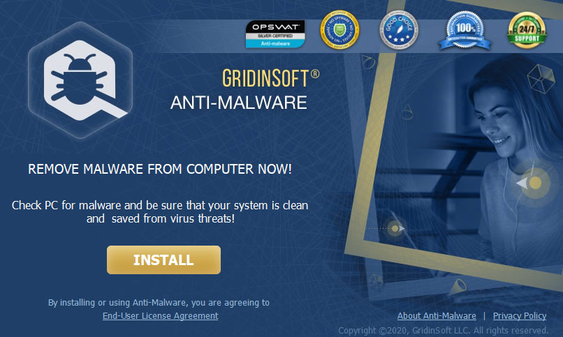 GridinSoft Anti-Malware 安装