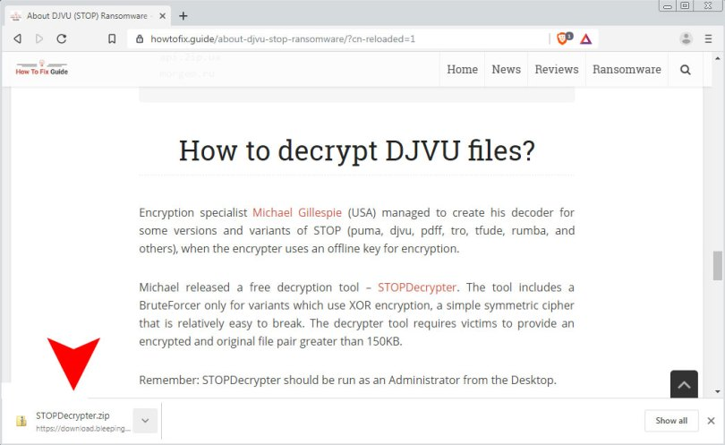 Download STOPDecrypter