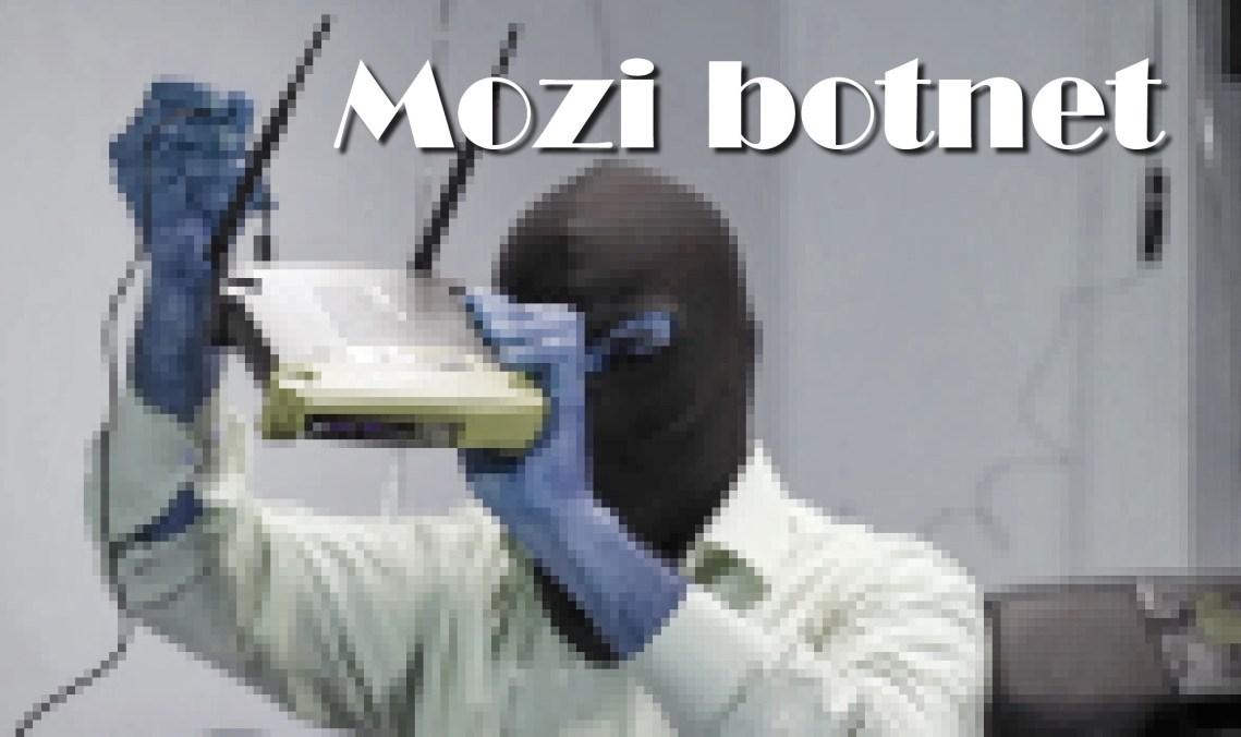 Mozi botnet attacks routers