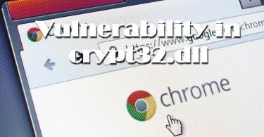 Chrome got protection from crypt32.dll