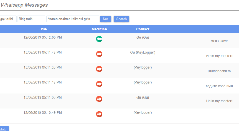 MonitorMinor traces activity in Gmail