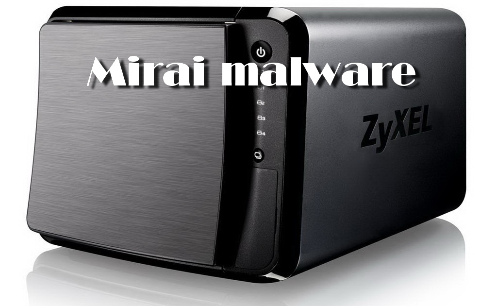 Mirai attacks Zyxel devices