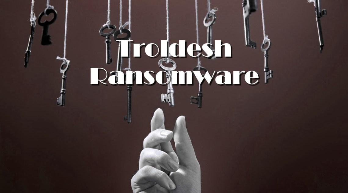 Troldesh ransomware stopped working