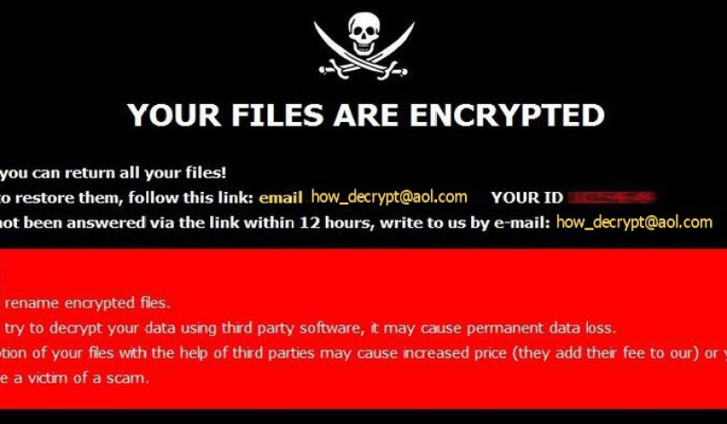 [how_decrypt@aol.com].HOW virus demanding message in a pop-up window