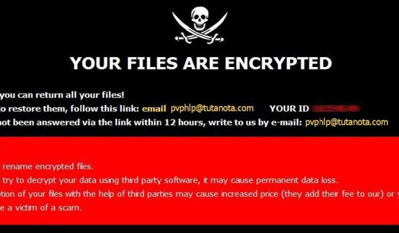 [pvphlp@tutanota.com].PPHL virus demanding message in a pop-up window