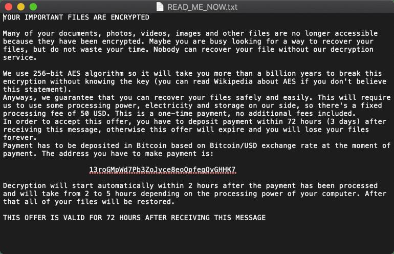 Free decryptor for ThiefQuest files