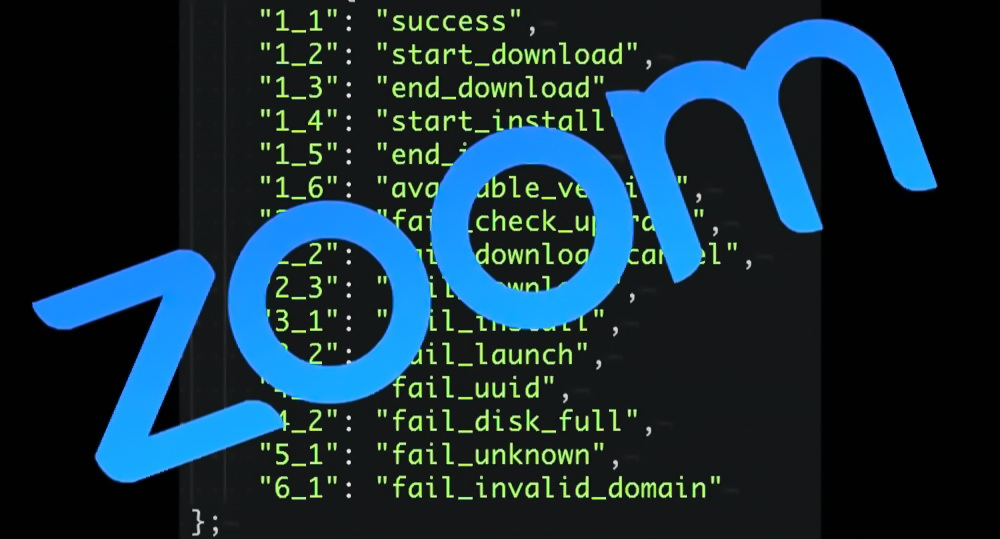 Zoom allowed matching a password