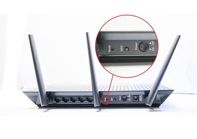 Ethernet doesn't have a valid IP configuration - Restart Router