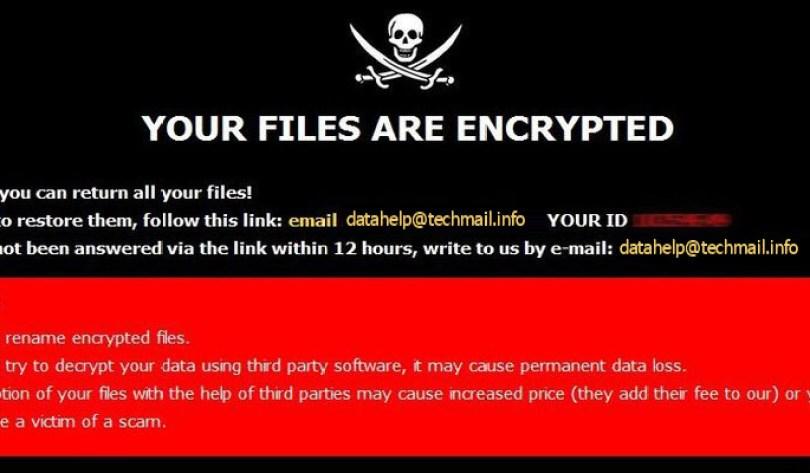 [datahelp@techmail.info].Error virus demanding message in a pop-up window