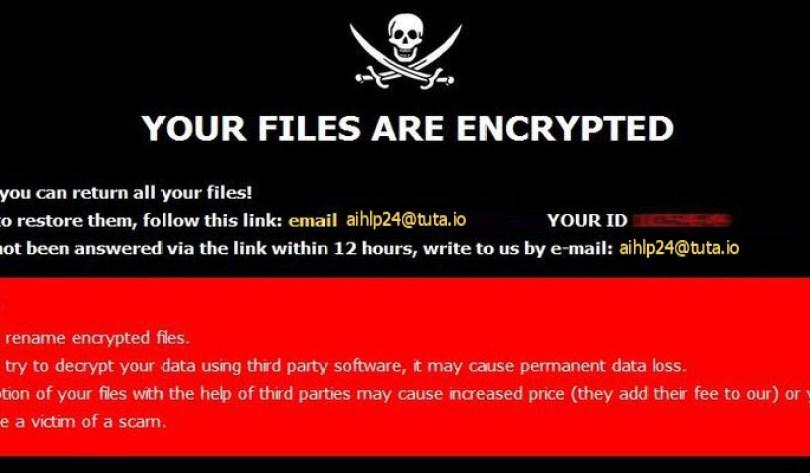 [aihlp24@tuta.io].AHP virus demanding message in a pop-up window