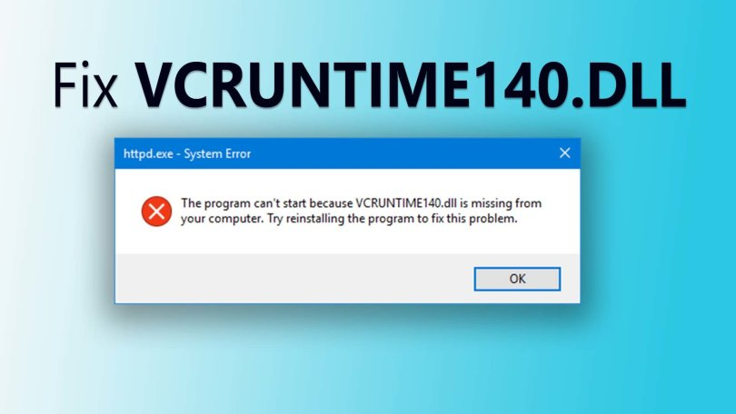 Fix VCRUNTIME140.DLL