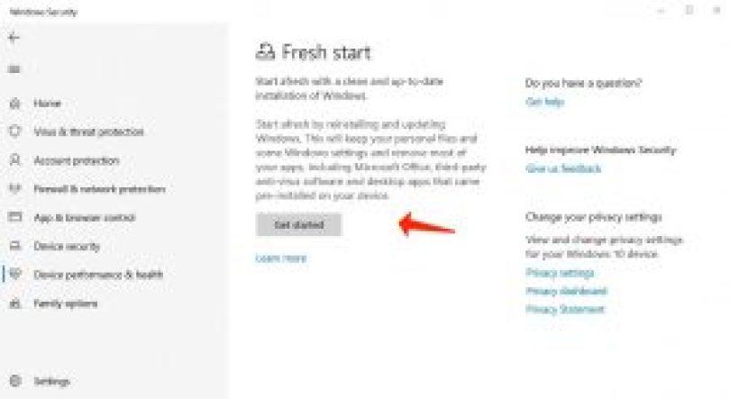 Windows 10 neu installieren - Neustart