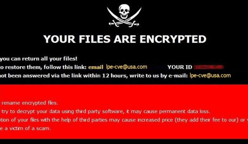 [lpe-cve@usa.com].cve virus demanding message in a pop-up window
