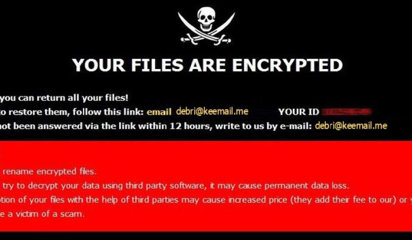 [debri@keemail.me].RXD virus demanding message in a pop-up window