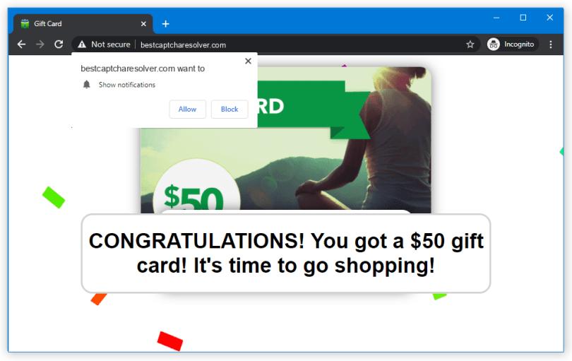 Bestcaptcharesolver.com push notification