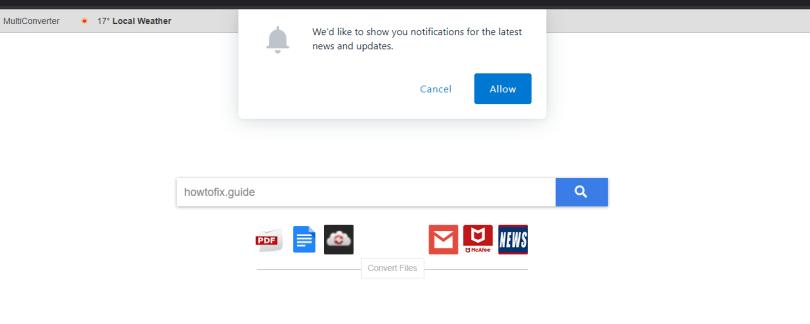 Download Converter Now hijacker - Searchdconvertnow.com