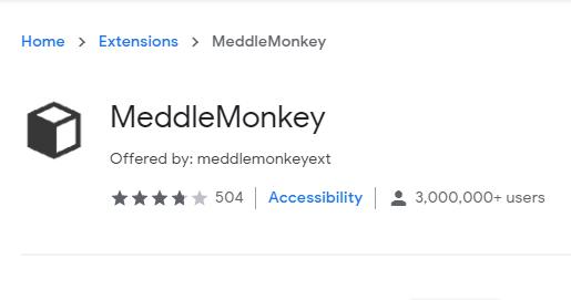 MeddleMonkey for Chrome