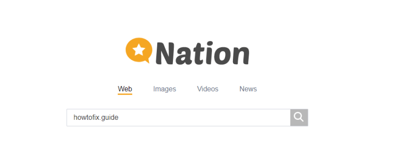 Nation Search hijacker - Search.nation.com