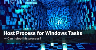 What is Host Process for Windows Tasks
