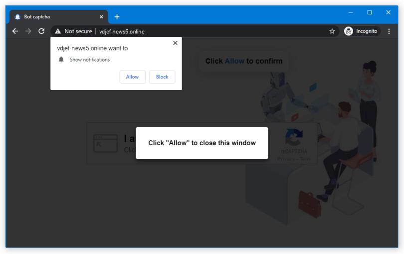 Vdjef-news push notification