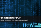 Remove PDFConverter from your PC
