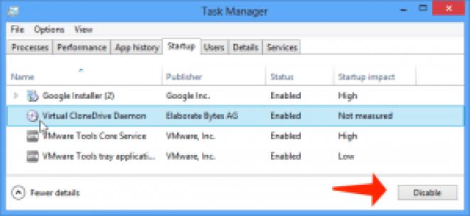 Error de actualización 0x80244019: deshabilite los programas de inicio en Windows