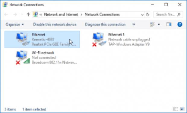 windows 10 - conexiones de red