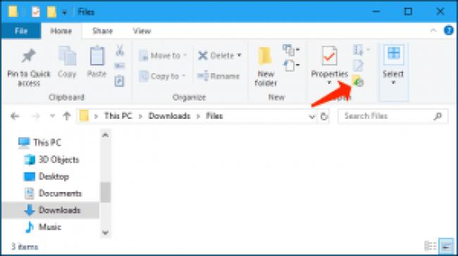 explorador de archivos - restaurar archivos