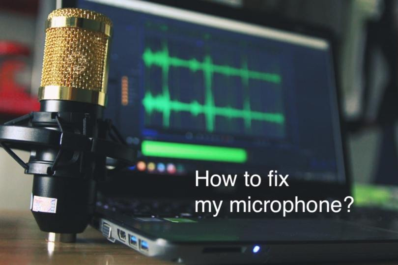 how to fix microphone windows 10
