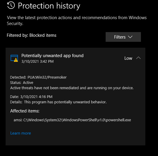 What is the potentially unwanted program and how to remove it?