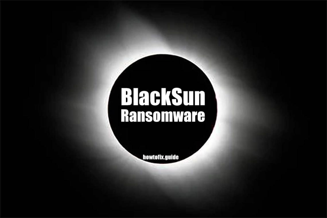 BlackSun Virus