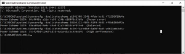 CsEnabledを修正します-コマンドコマンドプロンプトを実行します