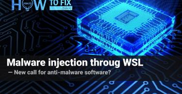 New malware variant attacks through WSL vulnerabilities