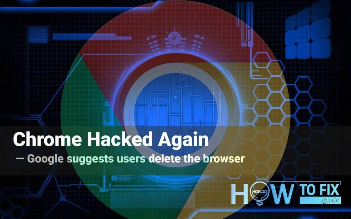 Chrome hacked again