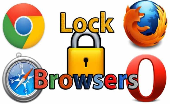 lock browsers