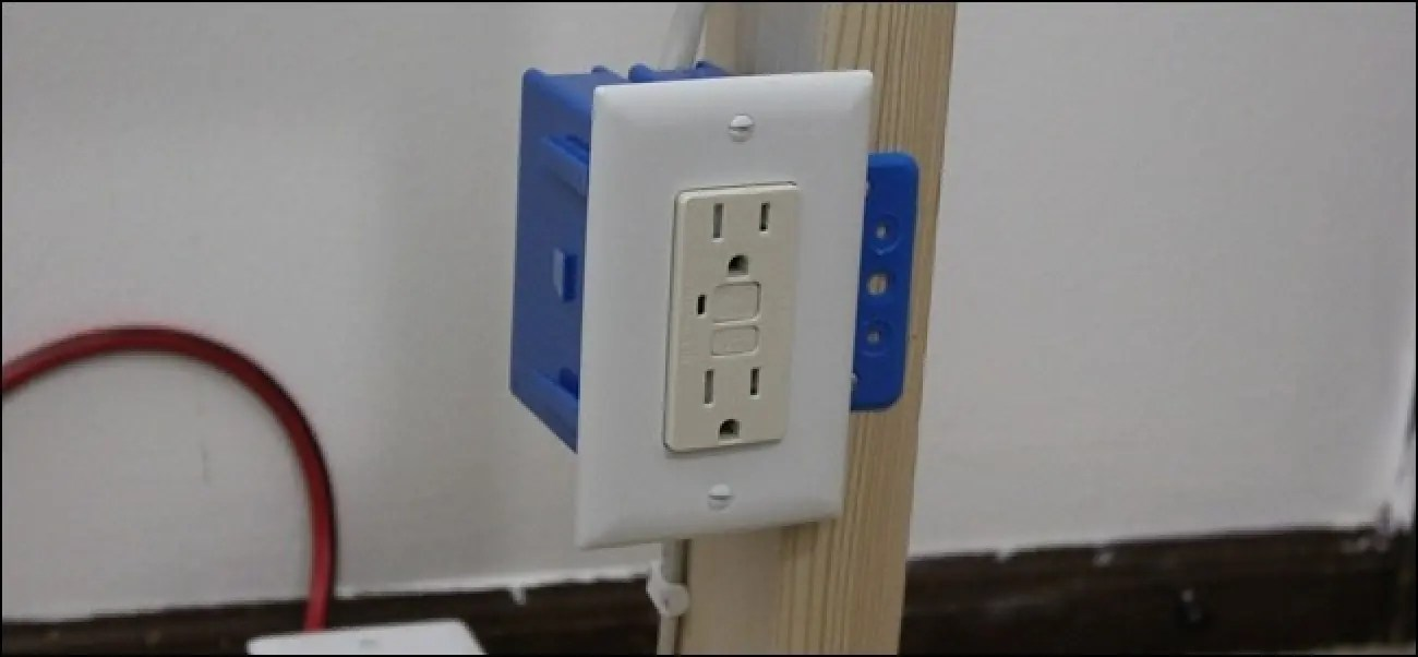 How (and Why) To Replace Your Outlets With GFCI Outlets