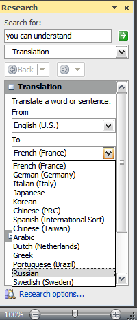 Cara Translate Di Word : translate, Quickly, Translate, Another, Language