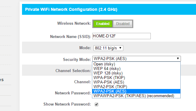 Wifi Security Should You Use Wpa2aes, Wpa2tkip, Or Both?