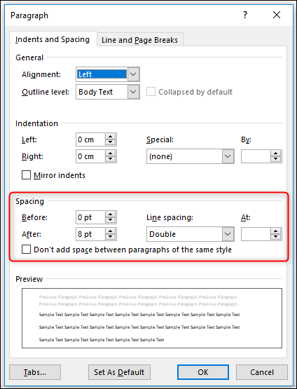 Where Is Line Spacing In Word : where, spacing, Control, Paragraph, Spacing, Microsoft