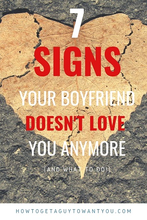 Brutally honest signs that your boyfriend doesn't love you anymore or is losing interest in the relationship