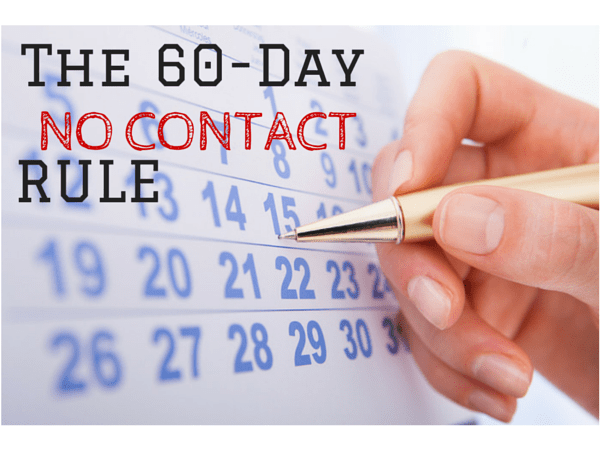 60 day no contact rule
