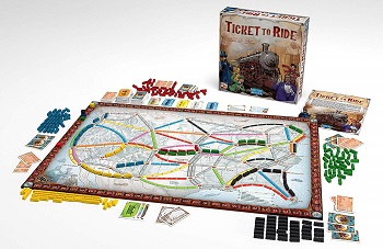 ticket to ride board game for two
