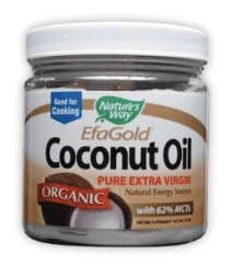 EfaGold Pure Organic Extra Virgin Coconut Oil