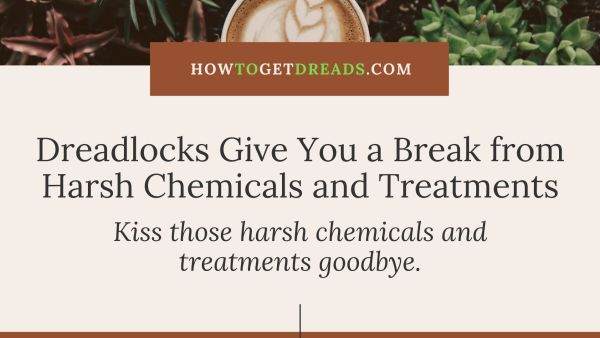 Dreads Give Your Hair a Break from Chemicals