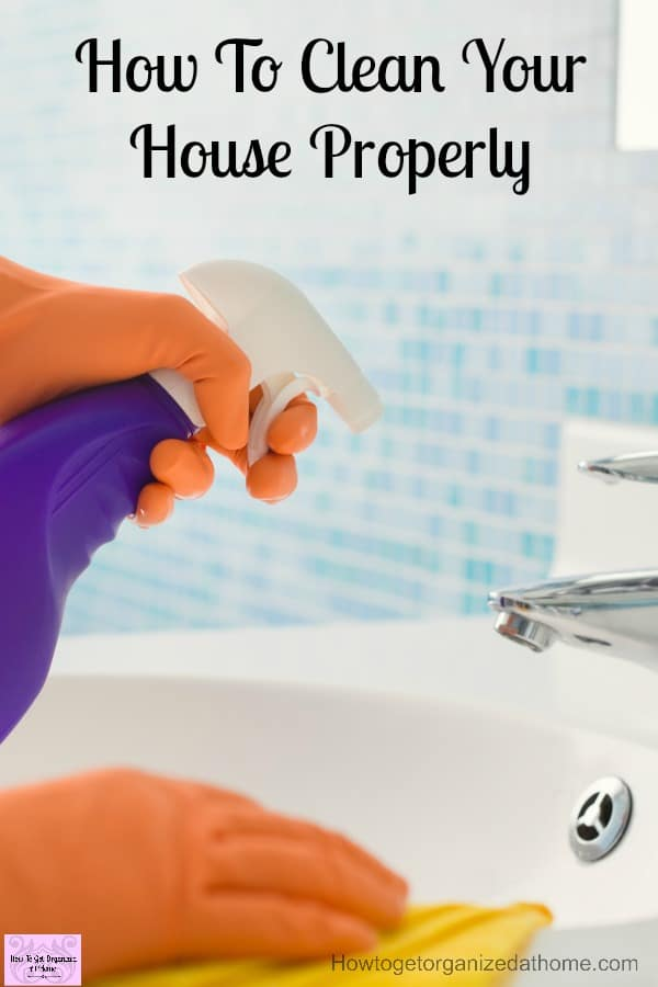 How To Clean Your House Properly Every Single Day