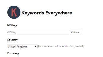 Keywords Everywhere installation